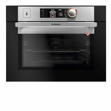 Picture of De Dietrich B/I 45cm DX2 Combi Pyro 100% Steam Oven Platinum