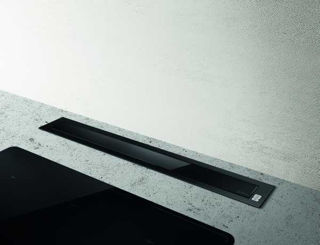 Picture of Elica 84cm Pandora Recycling Downdraft Black