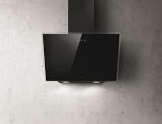Picture of Elica 60cm Shire Vertical Hood Black Glass