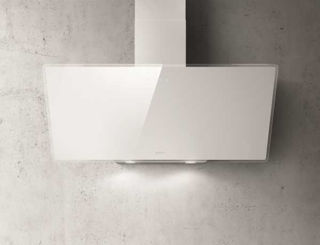 Picture of Elica 90cm Shire Vertical Hood White Glass