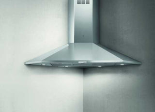 Picture of Elica 100cm Acuta Corner Mounted Chimney Hood Stainless Steel