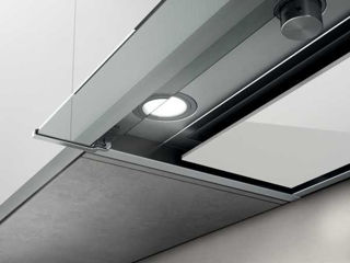Picture of Elica 120cm Box In Plus Canopy Hood Stainless Steel + White Glass
