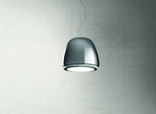 Picture of Elica 50cm Edith Heavy Metal Classic Suspended Hood Chrome