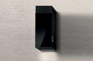 Picture of Elica 32cm Haiku Chimney Hood Black Glass