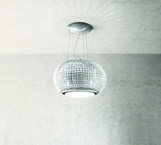 Picture of Elica 67cm Interstellar Suspended Hood Clear Crystal