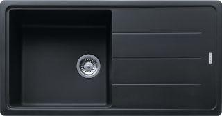 Picture of Franke Basis Single Bowl Sink Reversible Fragranite Onyx