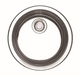 Picture of Franke Rotondo Single Bowl Inset Sink Stainless Steel