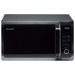 Picture of Sharp 20L Freestanding Solo Microwave Black