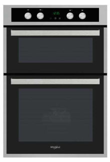 Picture of Whirlpool Built In Catalytic Double Oven Stainless Steel