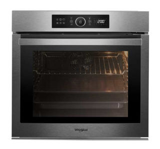 Picture of Whirlpool Built In Multifunction Single Oven Pyro Stainless Steel