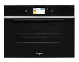 Picture of Whirlpool B/I 45cm Combi Steam Oven W Collection Connected Black Glass