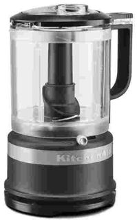 Picture of KitchenAid 1 Litre Food Chopper and Whisking Accessory Matte Black Accessories Range