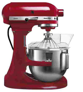 Picture of KitchenAid Heavy Duty 4.8L Stand Mixer Red