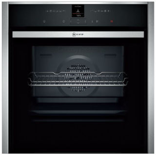 Picture of Neff Built In Slide + Hide Single Oven Stainless Steel