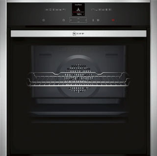 Picture of Neff Built In Slide + Hide Pyro Single Oven Stainless Steel