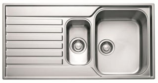 Picture of Franke Ascona 1.5 Bowl Inset Sink Reversible Stainless Steel PACK