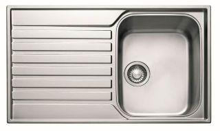 Picture of Franke Ascona Single Bowl Single Drainer Reversible Sink S/Steel Pack.