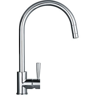 Picture of Franke Fuji Swan Neck Pull-Out Nozzel Tap Chrome