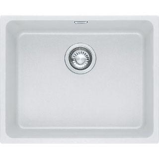 Picture of Franke Kubus Single Bowl Undermounted Sink Fragranite Polar White