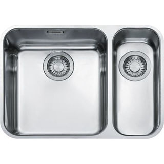 Picture of Franke Largo 1.5 Bowl Undermounted Sink RHSB Stainless Steel