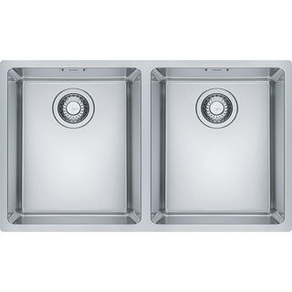 Picture of Franke Maris Double Bowl Slim-Top Sink Stainless Steel