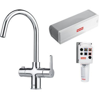 Picture of Franke Minerva ORIGINAL 3 in 1 Instant Boiling Hot Water Chrome Tap PACK