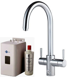 Picture of ISE 4 In 1 J Spout Touch Control Tap Chrome Kit