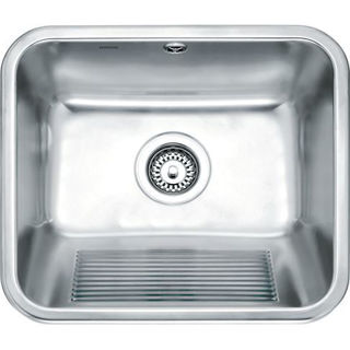Picture of Franke Utility Single Bowl Inset Sink Stainless Steel