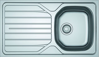 Picture of Franke Reno Single Bowl Inset Sink Reversible Stainless Steel