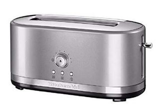 Picture of KitchenAid Manual Control Long 2-Slot Toaster Contour Silver