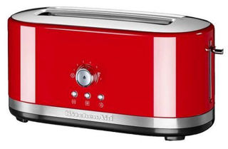 Picture of KitchenAid Manual Control Long 2-Slot Toaster Empire Red