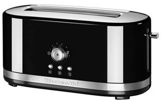 Picture of KitchenAid Manual Control Long 2-Slot Toaster Onyx Black