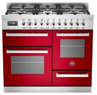 Picture of Bertazzoni F/S 100cm XG Professional Range Cooker Red