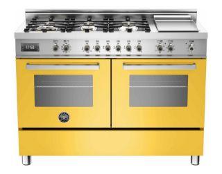 Picture of Bertazzoni F/S 120cm Professional Series Range Cooker Gloss Yellow
