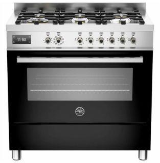Picture of Bertazzoni F/S 90cm Professional Range Cooker Black