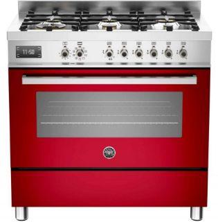 Picture of Bertazzoni F/S 90cm Professional Range Cooker Red