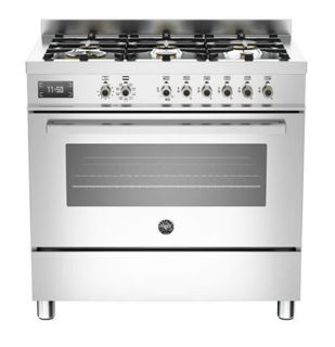 Picture of Bertazzoni F/S 90cm Professional Range Cooker Stainless Steel