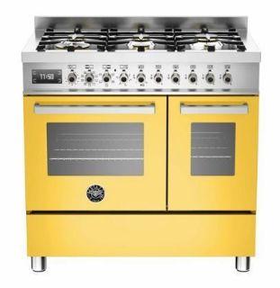 Picture of Bertazzoni F/S 90cm Professional Range Cooker Twin Yellow