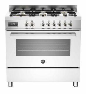 Picture of Bertazzoni F/S 90cm Professional Range Cooker White