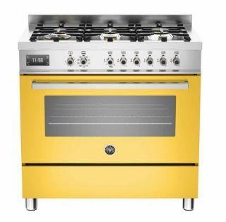 Picture of Bertazzoni F/S 90cm Professional Range Cooker Yellow