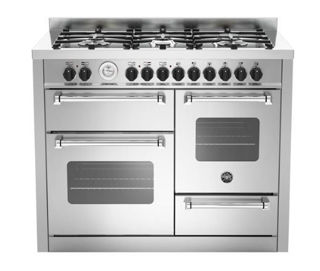 Picture of Bertazzoni F/S F/S 110cm XG Master Range Cooker Stainless Steel