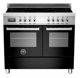 Picture of Bertazzoni F/S 100cm Professional Range Cooker Twin with Induction Black