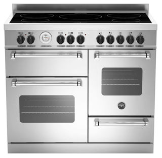 Picture of Bertazzoni F/S 110cm XG Master Range Cooker with Induction Stainless Steel
