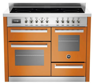 Picture of Bertazzoni F/S 110cm XG Professional Range Cooker with Induction Orange