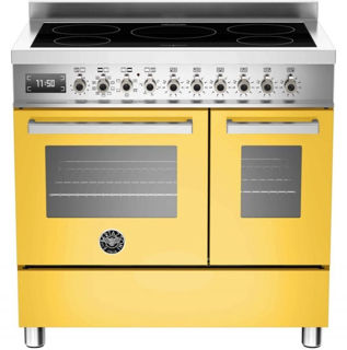 Picture of Bertazzoni F/S 90cm Professional Range Cooker Twin with Induction Yellow