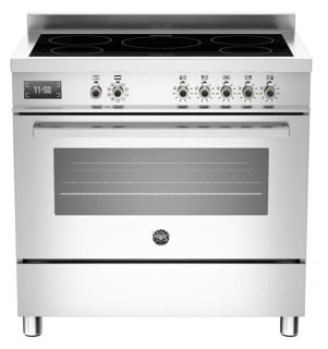 Picture of Bertazzoni F/S 90cm Professional Range Cooker with Induction Stainless Steel