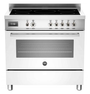 Picture of Bertazzoni F/S 90cm Professional Range Cooker with Induction White