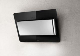 Picture of Elica 55cm Belt Verticle Hood Black Glass + Stainlees Steel