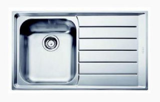 Picture of Franke Neptune Single Bowl Inset Sink RHD Stainless Steel