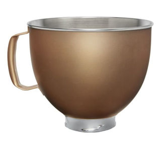 Picture of KitchenAid Attachment Stainless Steel Bowl Gold Accessories Range
